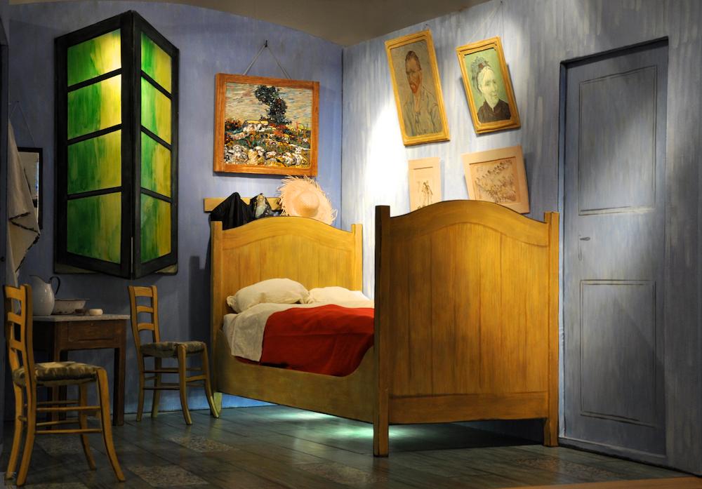 La riproduzione dal vero della camera di Van Gogh